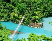 静岡県 夢の吊り橋と寸又峡