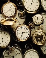 たくさんの懐中時計