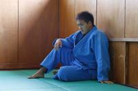 男子柔道選手