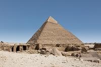 エジプト カフラー王のピラミッド