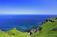 北海道 積丹半島の神威岬