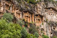 トルコ ムーラ県 カウノス遺跡