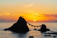 三重県 夫婦岩の日の出