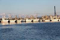 石川県 輪島 係留中の漁船