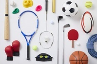 ラケット、ボールなどスポーツ用品