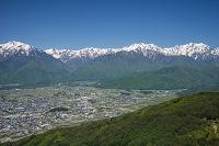 長野県 大町市と北アルプス