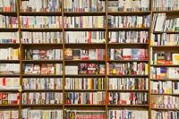 本屋の書棚