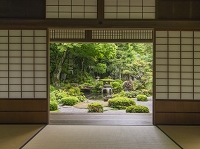 島根県 掘庭園