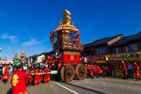 富山県 射水市(旧新湊市)曳山祭り