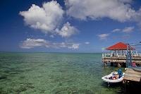 グアム ココス島の船着場