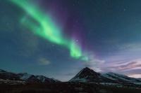 カナダ 夜明け前のエンジェルピーク