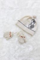 ニット帽と手袋