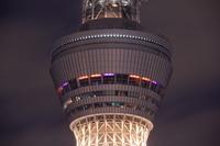 東京都 スカイツリーの展望室の夜景