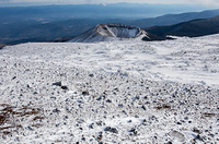 福島県 一切経山からの吾妻小富士