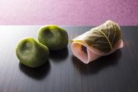 草餅と桜餅