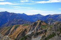 富山県 雄山山頂より北アルプスの山々