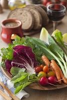 生野菜のバーニャカウダ