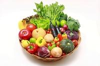 野菜果物の盛り合わせ