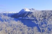 北海道 摩周湖と霧氷