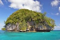 パラオ共和国 パラオの海とロックアイランド