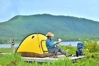 初夏・キャンプ・ハイカー