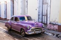 キューバ トリニダー クラシックカー