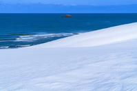 鳥取県 雪の鳥取砂丘