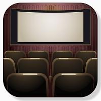 映画館のアイコン