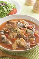 タラのトマトスープ