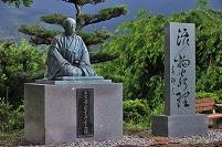 和歌山県 華岡青洲像