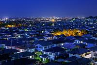 東京都 住宅街の夜景