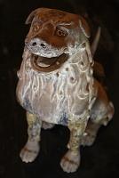 奈良県 談山神社 藤原鎌足公の神廟を守護する木造狛犬(運慶作)