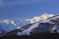 長野県 五竜岳と唐松岳