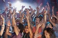 コンサートの観客