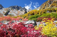 長野県 涸沢の紅葉