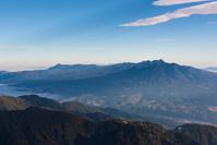山梨県 9合目付近から見る八ヶ岳