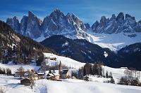 イタリア フネス谷