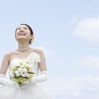 見上げる花嫁