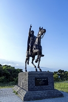 トルコ初代大統領ムスタファ・ケマル・アタテュルク騎馬像