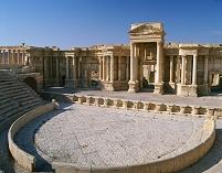 シリア パルミラ 円形劇場