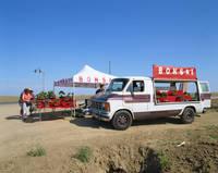 アメリカ・カリフォルニア州 盆栽の移動販売
