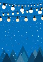 クリスマス ベクタ―素材
