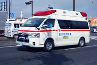 おもしろいナンバープレートの99車(救急車)