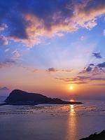 高知県 柏島と夕日