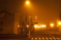 夜の駅前通り