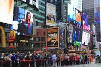 ニューヨーク タイムズ・スクエア  マンハッタン 看板