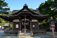 滋賀県 琵琶湖畔 白髭神社 拝殿