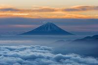 長野県 高ボッチより富士山