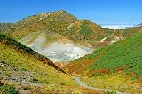 富山県 室堂から地獄谷と奥大日岳