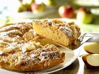リンゴとアーモンドのケーキ